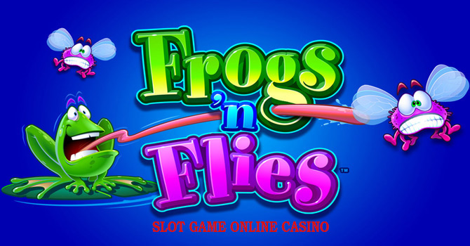 Game Online Casino Slot : Frogs N Flies